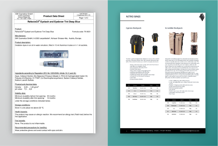 Sell Sheets: The Eye-Catching, Compelling Alternative to Dry Product Data Sheets