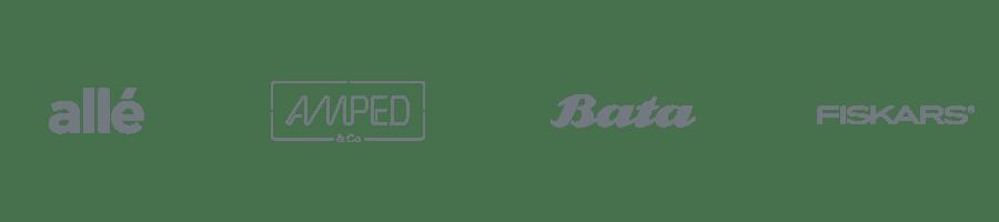 Plytix - Allé design, Amped, Bata, Fiskars