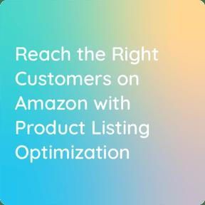 Amazon Product optimization - Plytix webinar