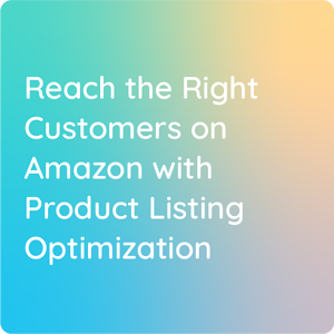 Reach the right customers on amazon with PLO