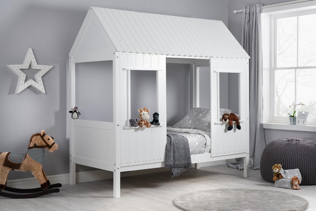 White Kids Treehouse bed - Birlea Furniture
