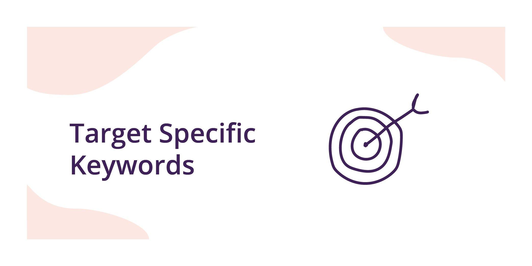 Ecommerce SEO-target keywords