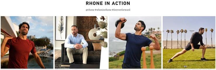 Rhone-website