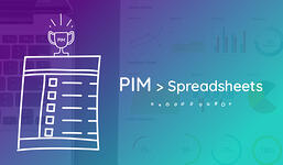 PIM > spreadsheets for product information management