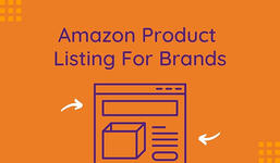 Amazon Product Listing for Brands