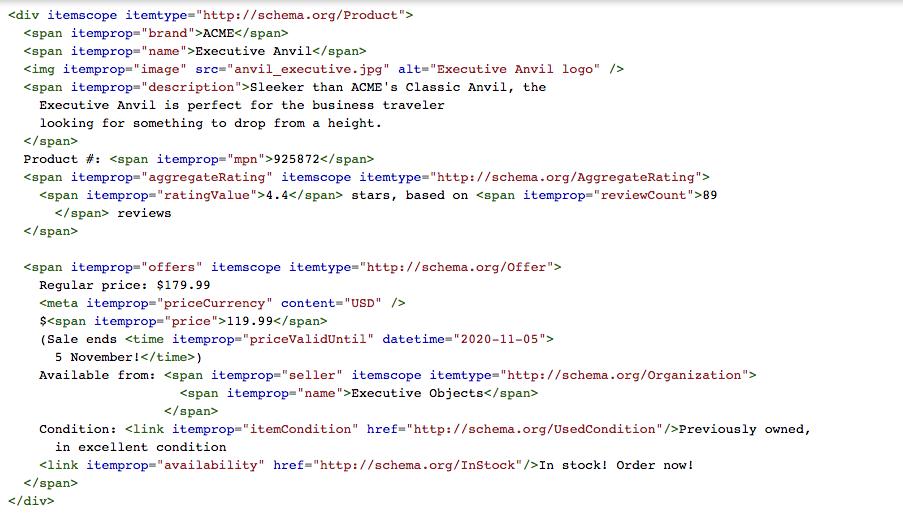 google-structured-data-schema-example