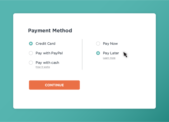 "Payment options keep expanding (mobile + ""buy now, pay later"" and more)"
