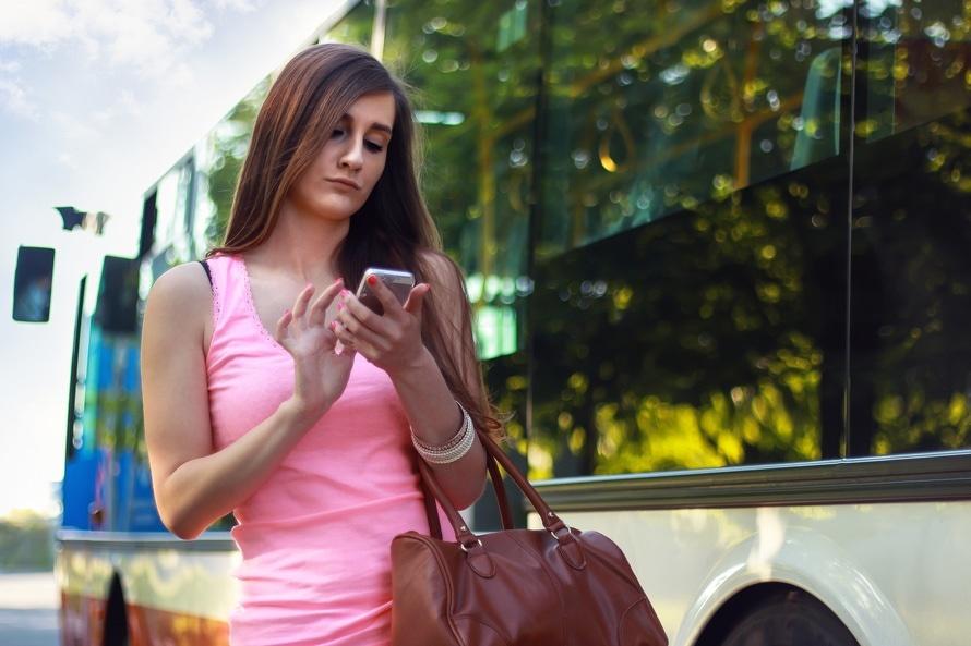 Girl Waiting Online Customer Service