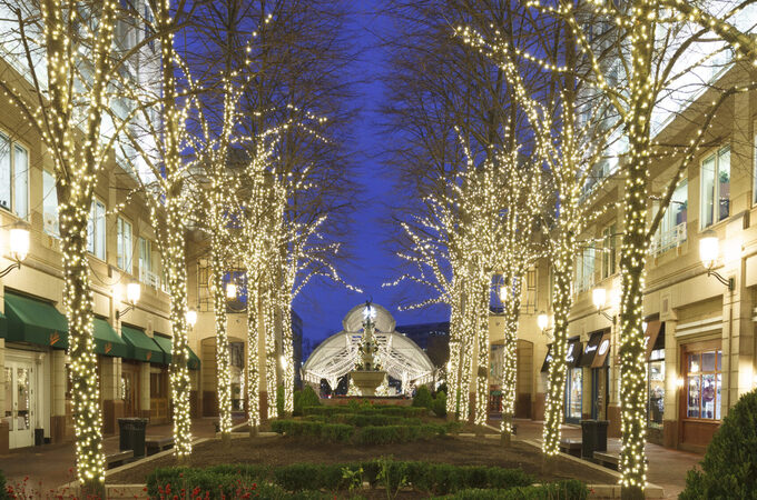 S4 Lights Decorative Bulbs and Benchmark at Reston Town Center (1)