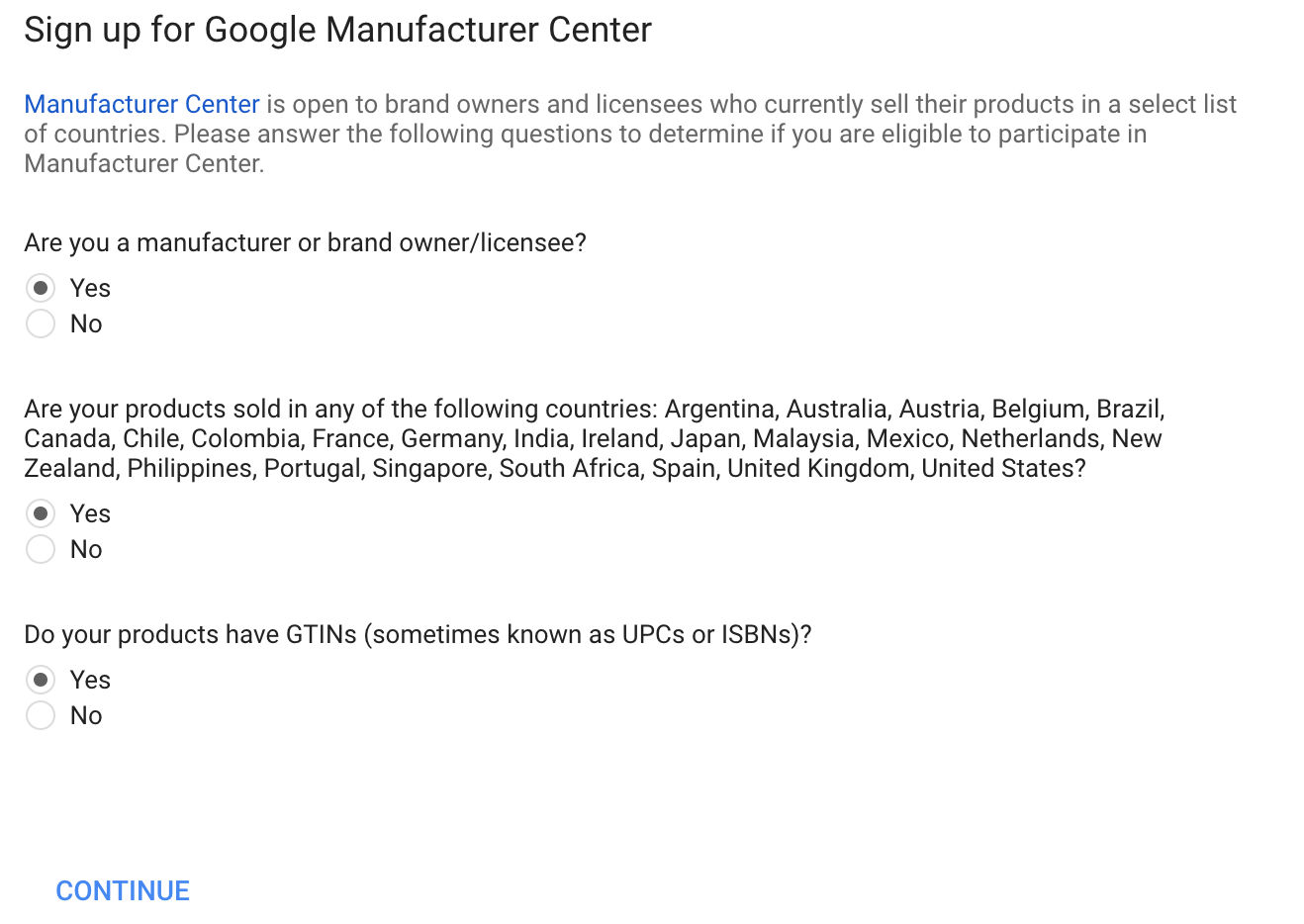 How Does Google Manufacturer Center Work?