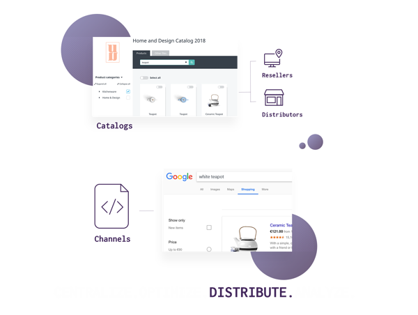 Plytix empowers ecommerce marketers, managers, and business owners to centralize, optimize, distribute, and analyze any amount of product data from a single, user-friendly dashboard.