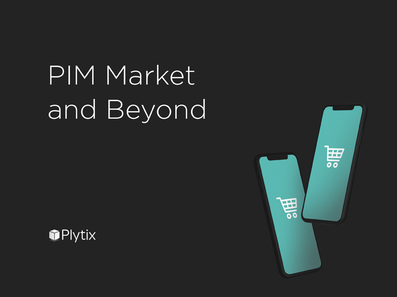Cover of our ebook, PIM Market and Beyond