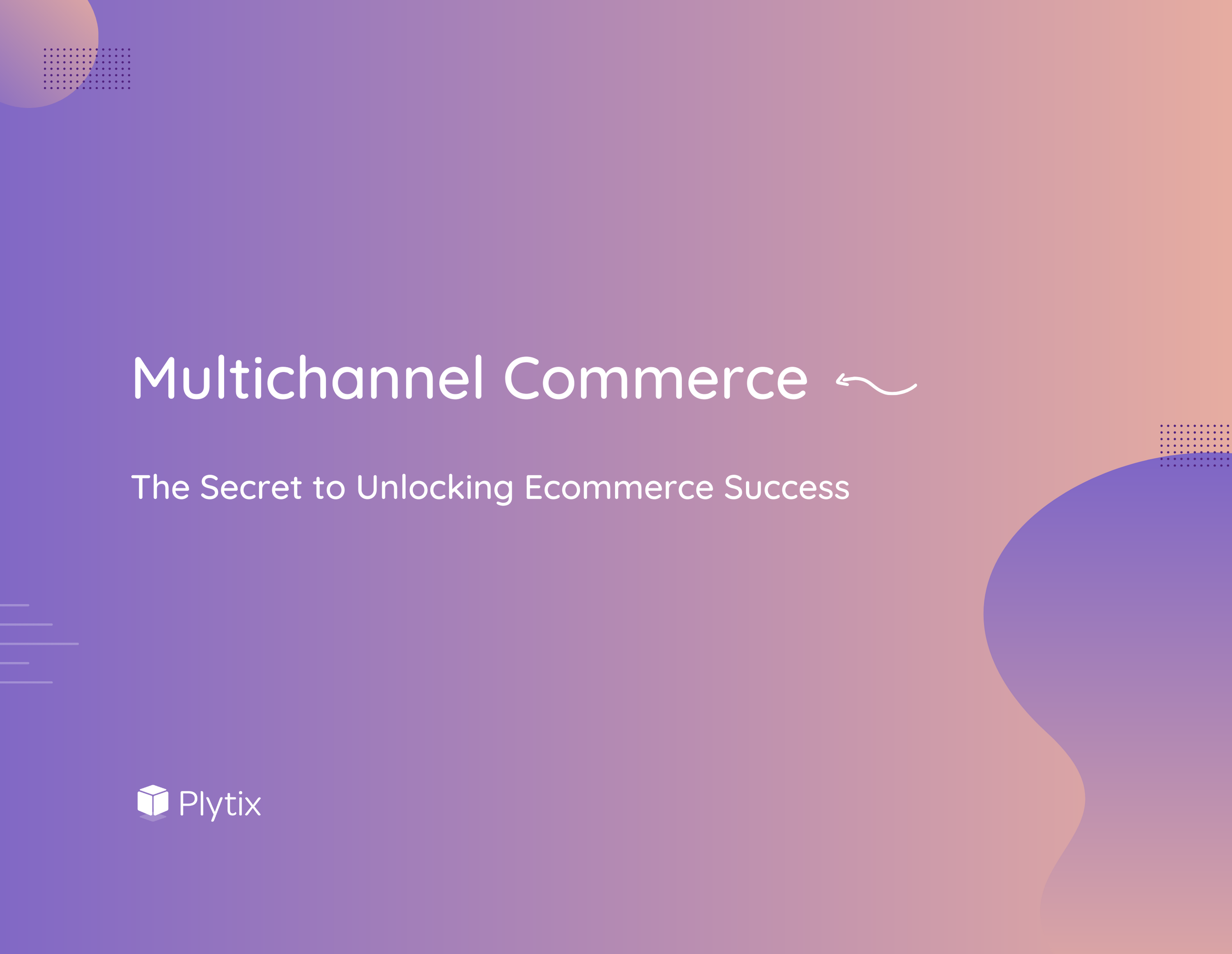 Cover of our ebook, Multichannel Commerce