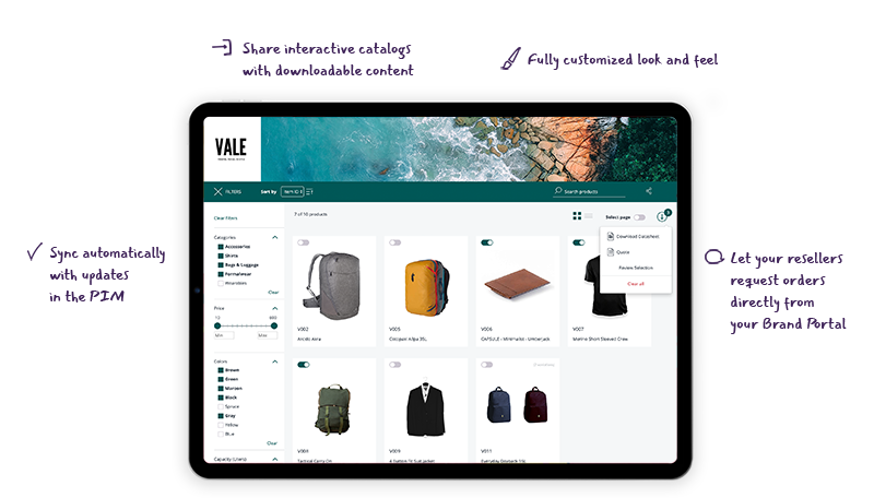 Product Information Management - Brand Portal