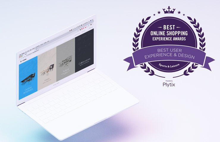 Best Online Shopping Experience Awards: User Experience and Design (Sports & Leisure)