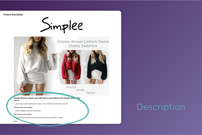 How to Optimize Your Description