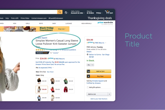 How to Optimize Your Product Title