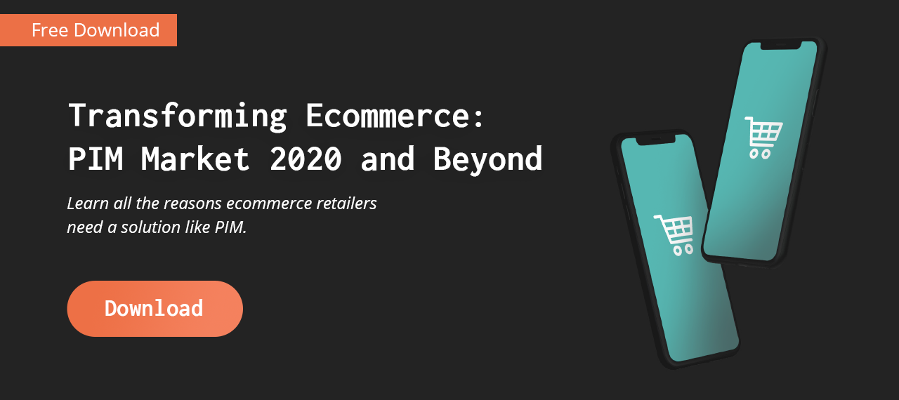 Transforming Ecommerce: PIM Market 2019 and Beyond ebook