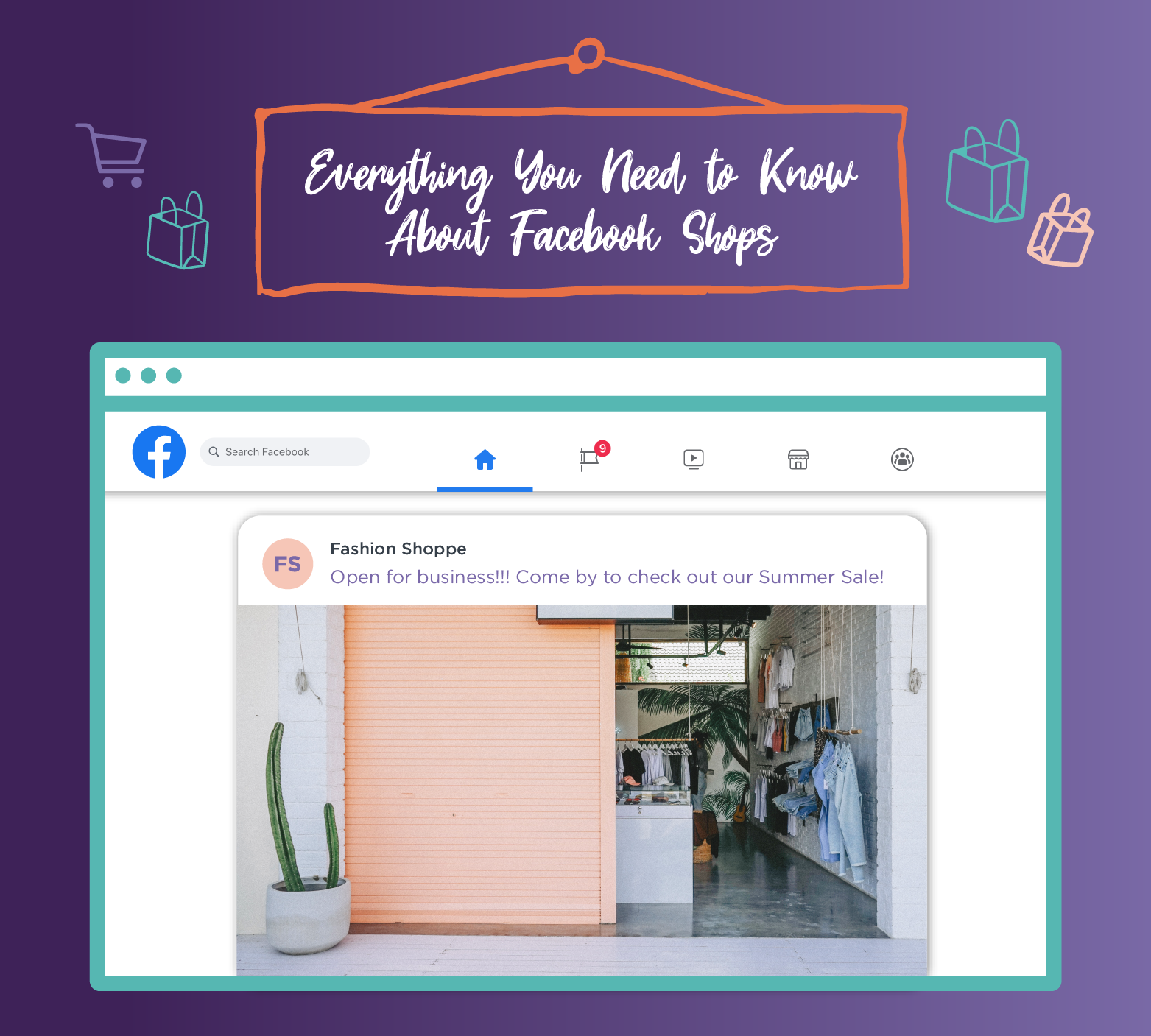 Everything You Need to Know About Facebook Shops