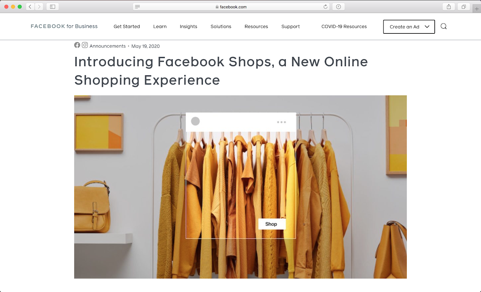 Facebook Shops Is the Newest Channel Online Retailers Need to Know About
