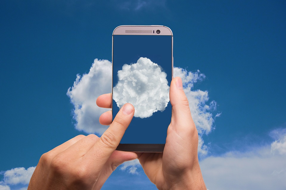 Cloud-based technology available on a mobile device for small businesses